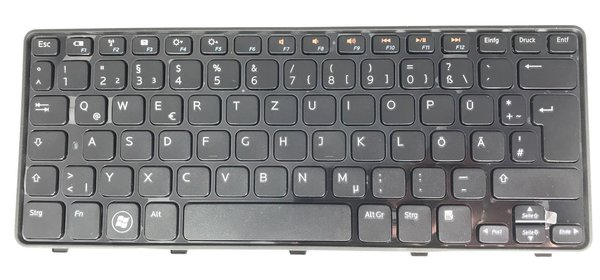 Original Dell Mini 10 Inspiron 1090 Tastatur Keyboard Deutsch German 00HPPW MP-10F16D0 PK130EP1A14